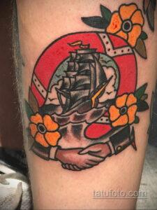 Фото рисунока тату с подковой 22.07.2021 №632 - drawing tattoo horseshoe - tatufoto.com