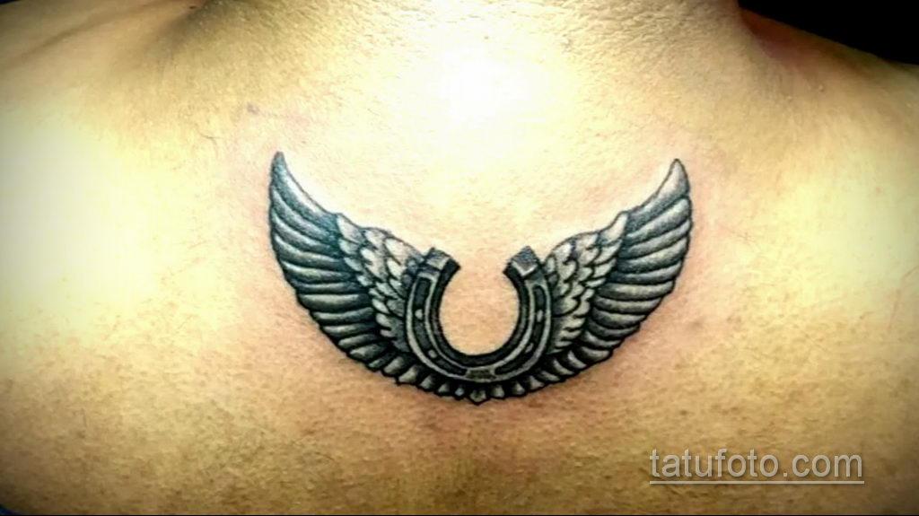 Фото рисунока тату с подковой 22.07.2021 №644 - drawing tattoo horseshoe - tatufoto.com