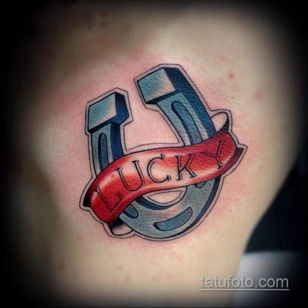 Фото рисунока тату с подковой 22.07.2021 №654 - drawing tattoo horseshoe - tatufoto.com