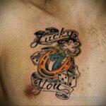 Фото рисунока тату с подковой 22.07.2021 №686 - drawing tattoo horseshoe - tatufoto.com