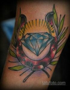 Фото рисунока тату с подковой 22.07.2021 №689 - drawing tattoo horseshoe - tatufoto.com