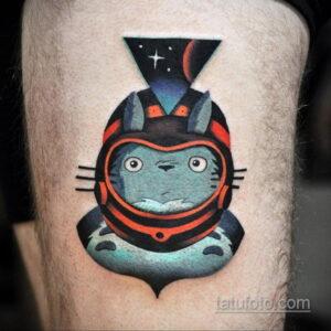 Фото тату астронавт 17.07.2021 №209 - astronaut tattoo - tatufoto.com