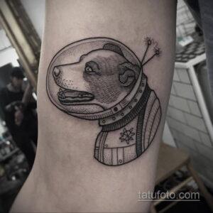 Фото тату астронавт 17.07.2021 №211 - astronaut tattoo - tatufoto.com