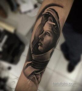 Фото тату астронавт 17.07.2021 №237 - astronaut tattoo - tatufoto.com