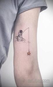 Фото тату астронавт 17.07.2021 №238 - astronaut tattoo - tatufoto.com
