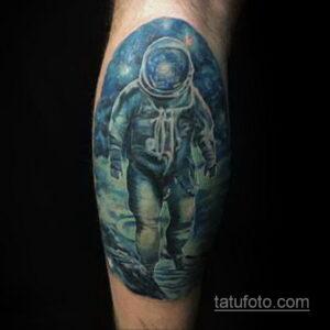 Фото тату астронавт 17.07.2021 №255 - astronaut tattoo - tatufoto.com