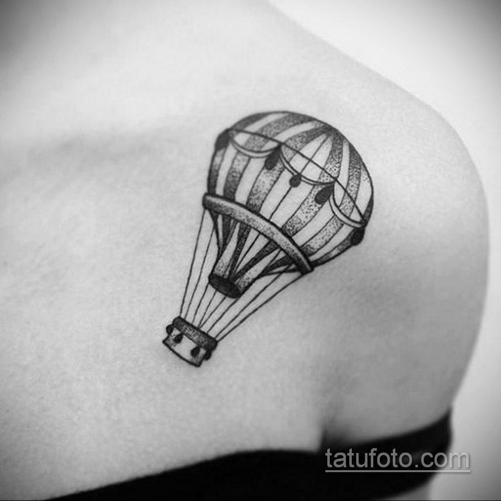 Фото тату воздушный шар 05.07.2021 №434 - balloon tattoo - tatufoto.com