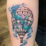 Фото тату воздушный шар 05.07.2021 №440 - balloon tattoo - tatufoto.com