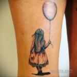 Фото тату воздушный шар 05.07.2021 №452 - balloon tattoo - tatufoto.com