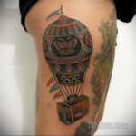 Фото тату воздушный шар 05.07.2021 №459 - balloon tattoo - tatufoto.com