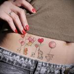 Фото тату воздушный шар 05.07.2021 №463 - balloon tattoo - tatufoto.com
