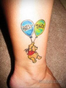 Фото тату воздушный шар 05.07.2021 №465 - balloon tattoo - tatufoto.com