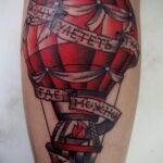 Фото тату воздушный шар 05.07.2021 №468 - balloon tattoo - tatufoto.com