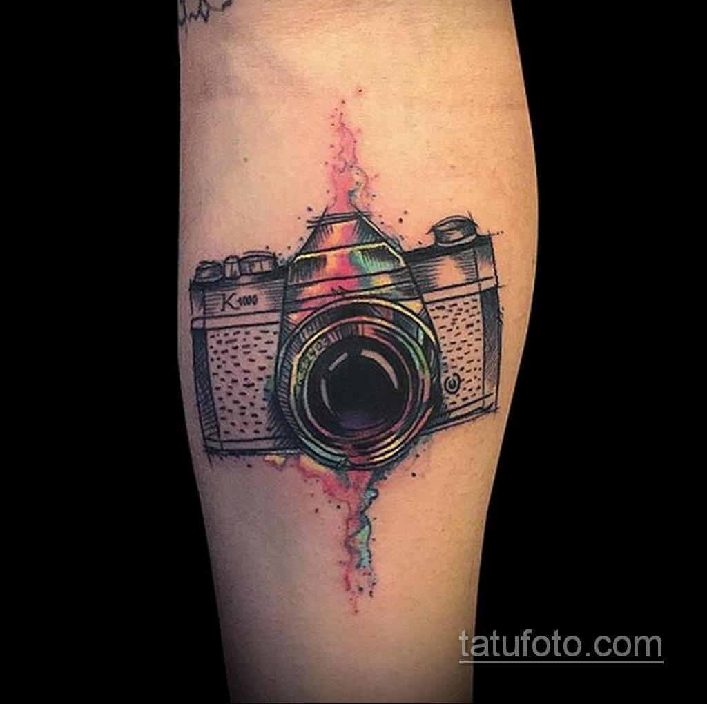 Фото тату камера 06.07.2021 №448 - tattoo camera - tatufoto.com