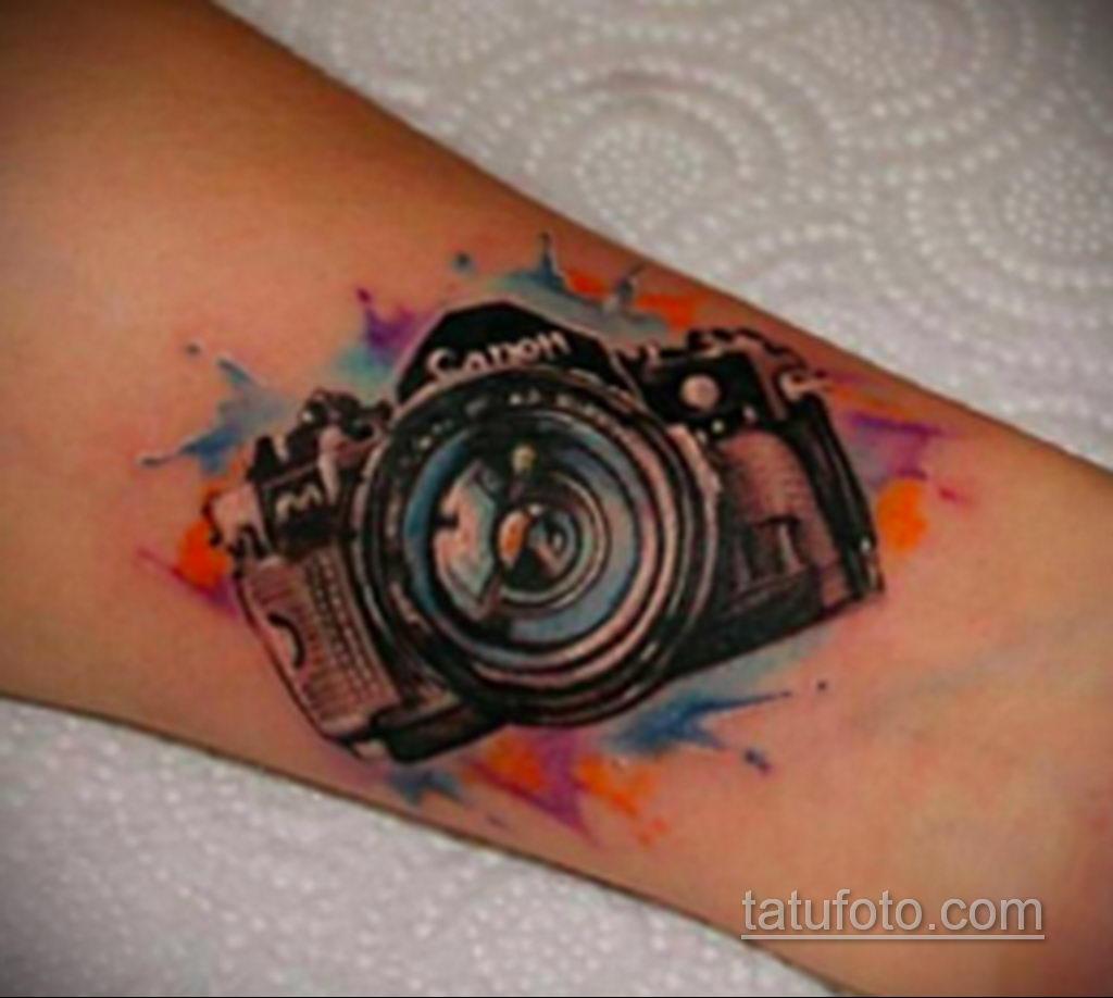 Фото тату камера 06.07.2021 №451 - tattoo camera - tatufoto.com