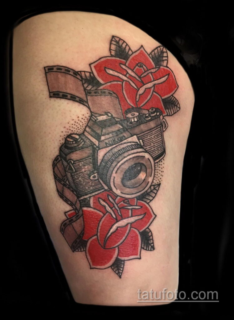 Фото тату камера 06.07.2021 №469 - tattoo camera - tatufoto.com
