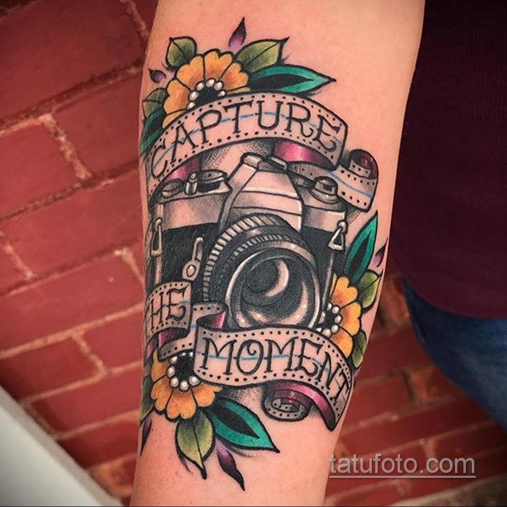 Фото тату камера 06.07.2021 №474 - tattoo camera - tatufoto.com