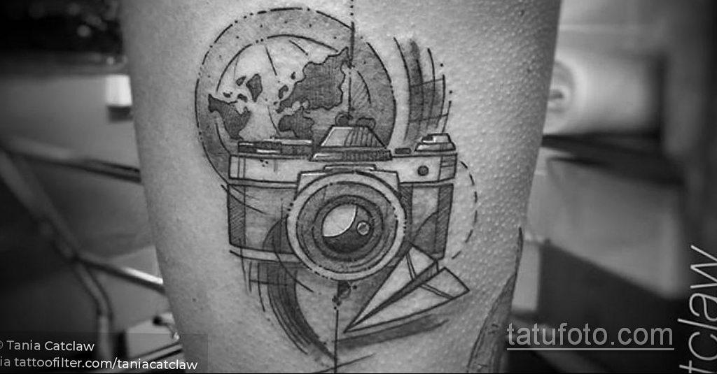 Фото тату камера 06.07.2021 №489 - tattoo camera - tatufoto.com