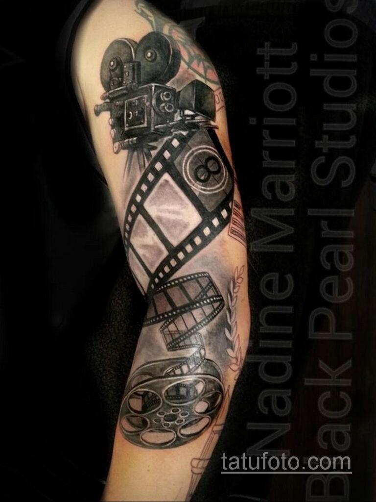 Фото тату камера 06.07.2021 №490 - tattoo camera - tatufoto.com