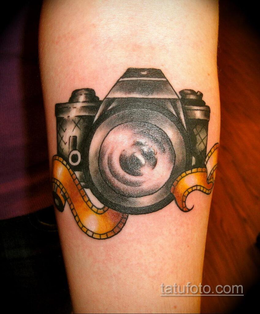 Фото тату камера 06.07.2021 №493 - tattoo camera - tatufoto.com