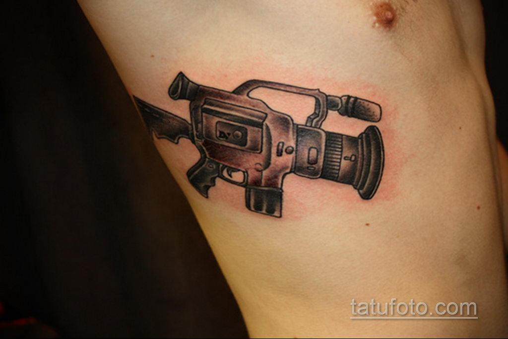 Фото тату камера 06.07.2021 №516 - tattoo camera - tatufoto.com