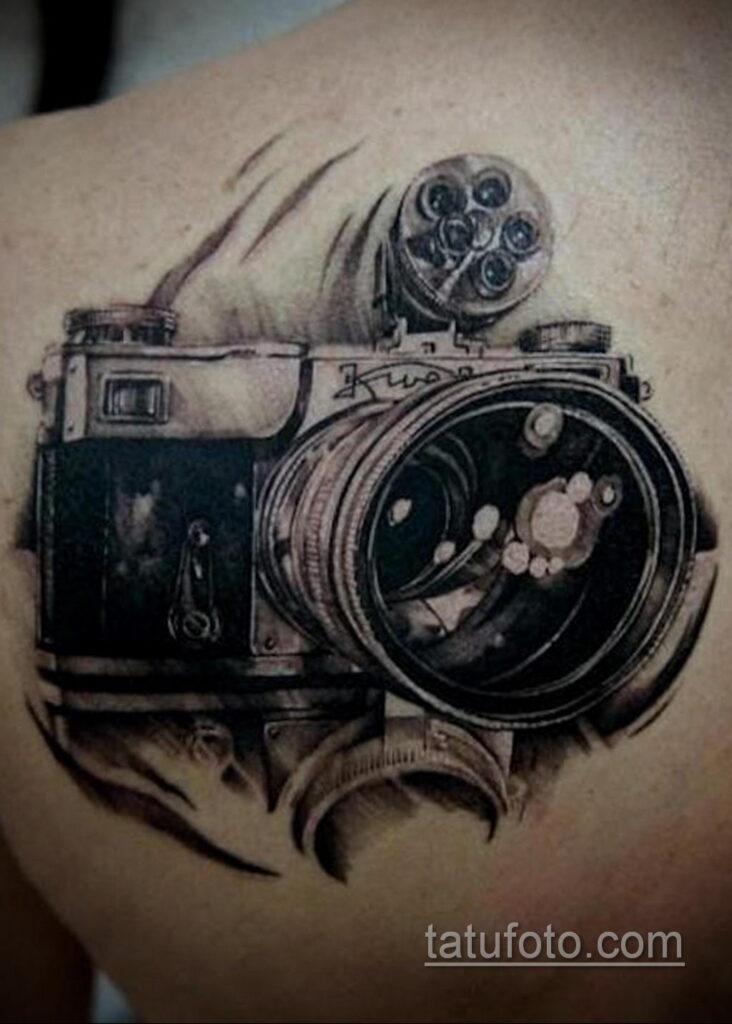 Фото тату камера 06.07.2021 №532 - tattoo camera - tatufoto.com