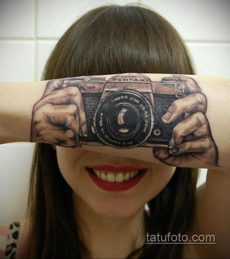 Фото тату камера 06.07.2021 №533 - tattoo camera - tatufoto.com