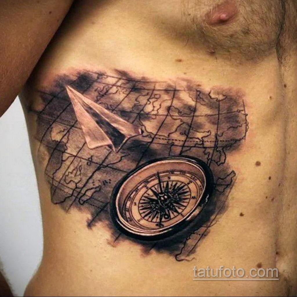 Фото тату самолет 06.07.2021 №412 - airplane tattoo - tatufoto.com