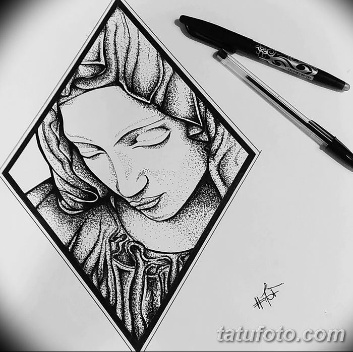 тату геометрия 03.12.2018 №292 - sketch tattoo geometry - tatufoto.com