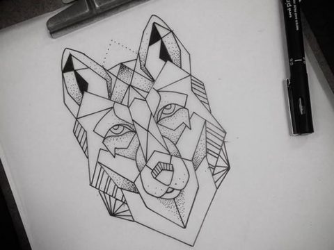 тату геометрия 03.12.2018 №333 - sketch tattoo geometry - tatufoto.com
