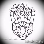 тату геометрия 03.12.2018 №468 - sketch tattoo geometry - tatufoto.com