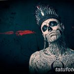 фото Zombie Boy Рик Дженест 04.12.2018 №260 - photo of Zombie Boy - tatufoto.com