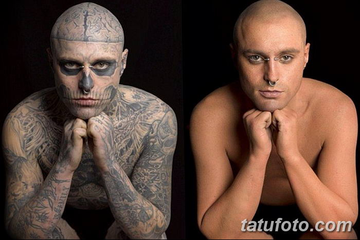 фото Zombie Boy Рик Дженест 04.12.2018 №273 - photo of Zombie Boy - tatufoto.com